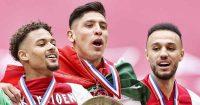 Devyne Rensch, Edson Alvarez, Noussair Mazraoui Ajax TEAMtalk