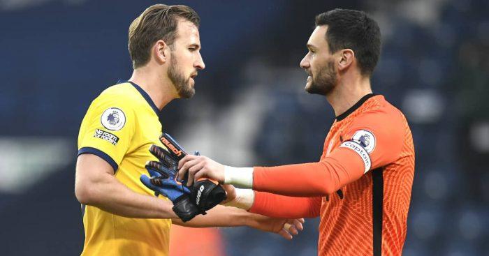 Harry Kane and Hugo Lloris pondering Tottenham exits