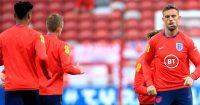 Jordan Henderson England warm-up TEAMtalk