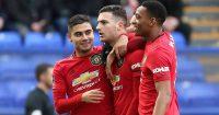 Andreas Pereira, Diogo Dalot, Anthony Martial Man Utd TEAMtalk