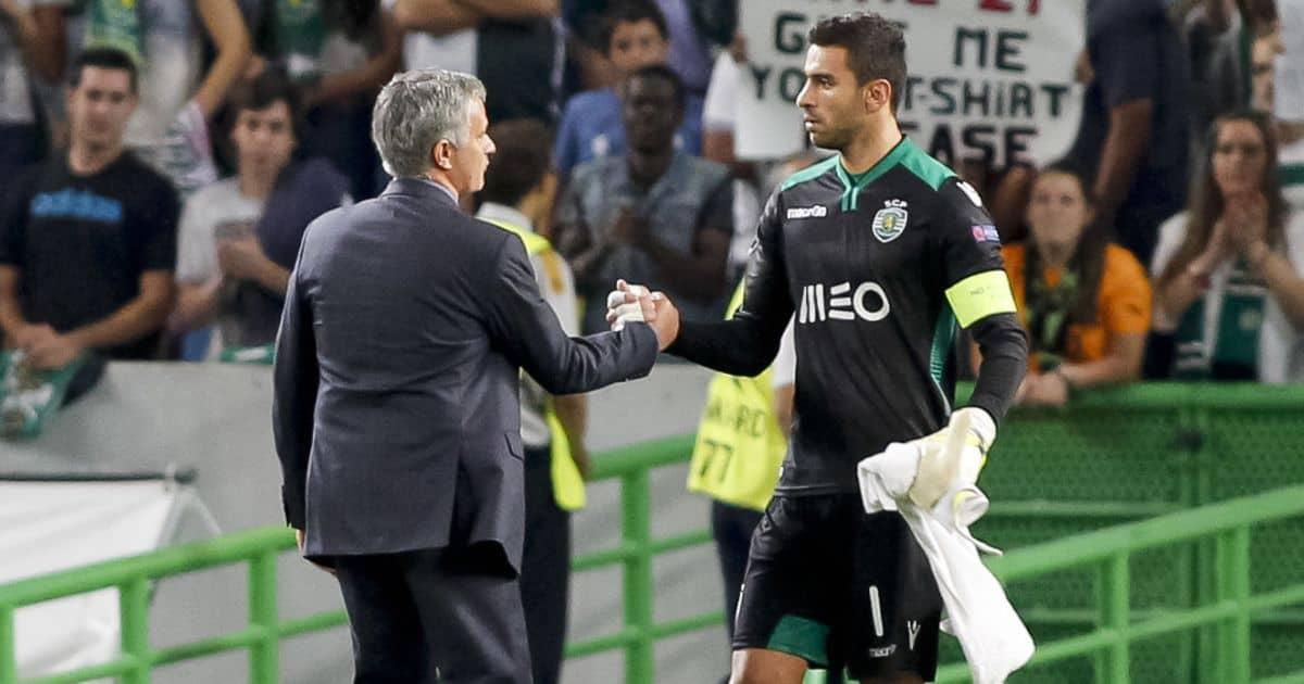 Jose Mourinho, Rui Patricio, Chelsea V Sporting Lisbon 2014, TEAMtalk