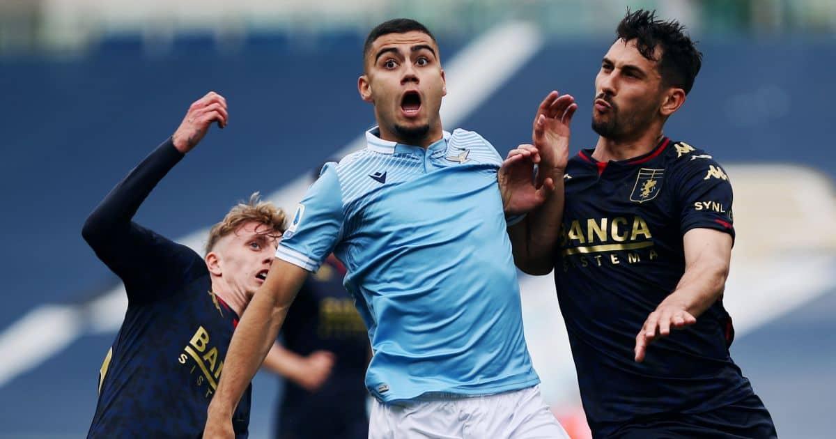 Andreas Pereira Lazio v Genoa, on loan from Man Utd May 2021