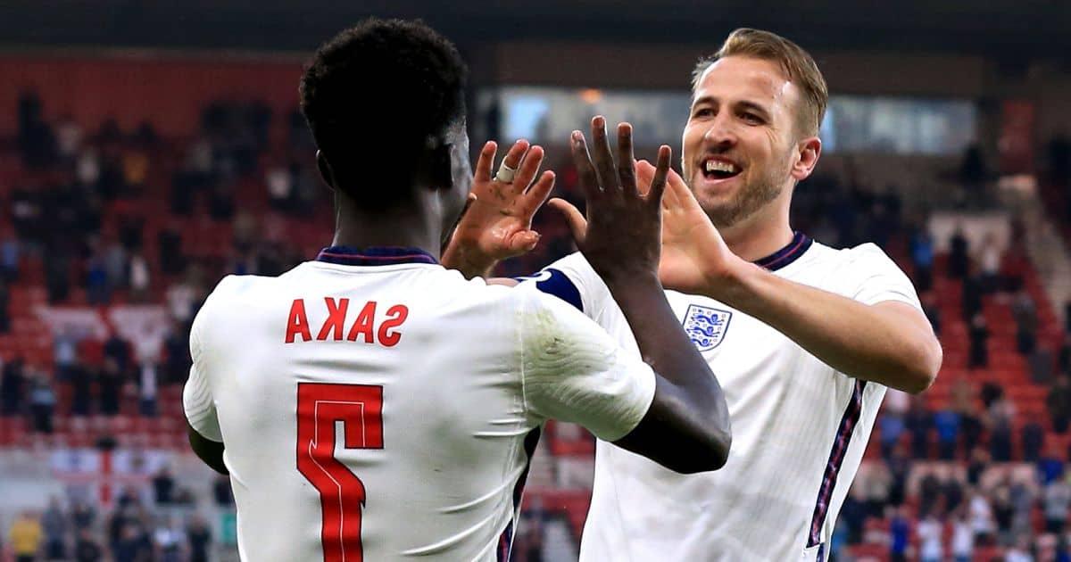 Kane-Saka England Austria TEAMtalk