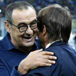 Maurizio Sarri and Antonio Conte, linked with Everton and Tottenham jobs