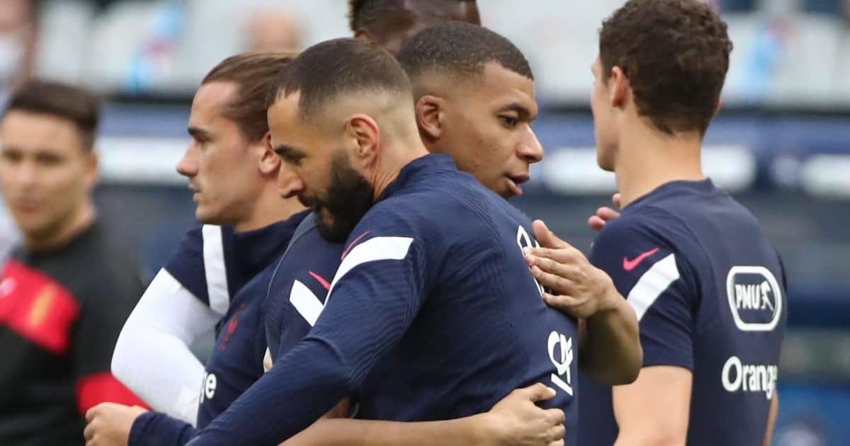 Karim Benzema; Kylian Mbappe France TEAMtalk