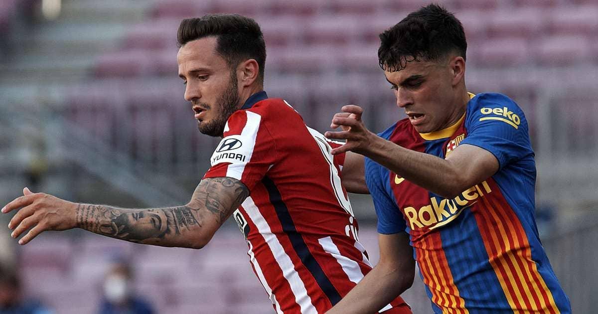 Saul Niguez, Pedri, Barcelona v Atletico Madrid TEAMtalk