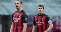 Zlatan Ibrahimovic, Alessio Romagnoli AC Milan TEAMtalk