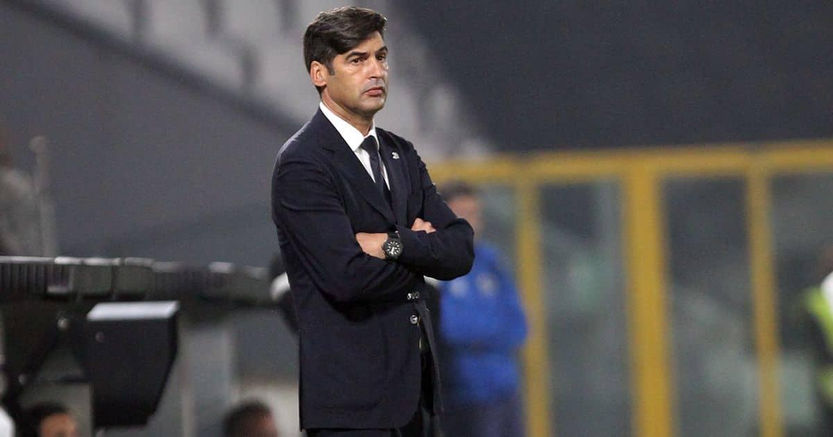 Paulo Fonseca Tottenham talks TEAMtalk