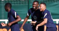 Marcus Thuram; Kylian Mbappe France training TEAMtalk