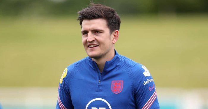 Harry Maguire England training TEAMtalk
