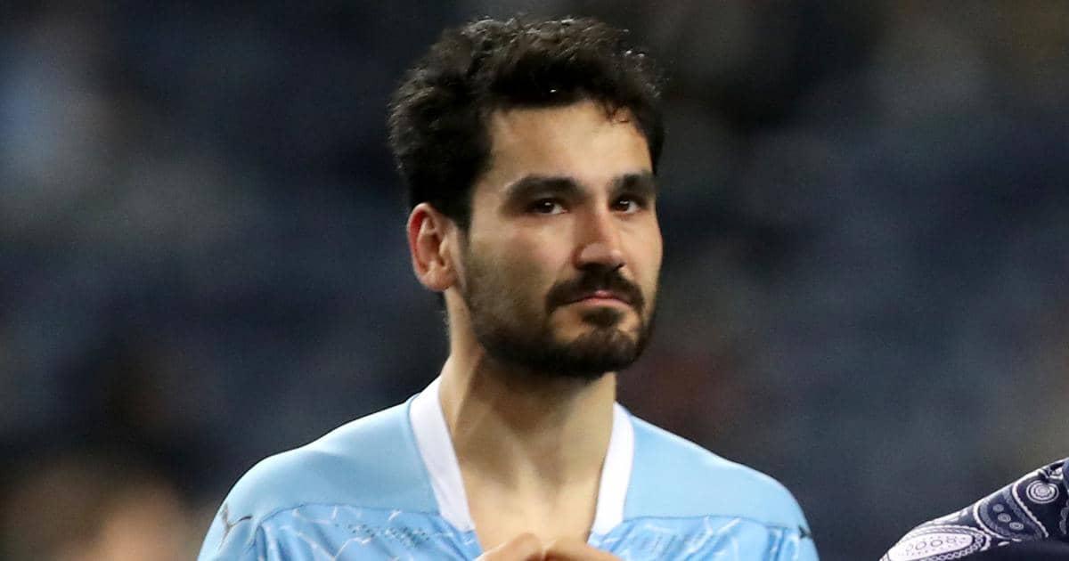Ilkay Gundogan Champions League final Man City TEAMtalk