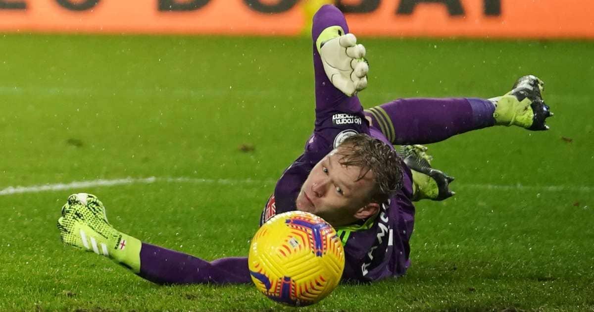 Aaron Ramsdale Sheffield United goalkeeper TEAMtalk