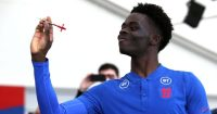 Bukayo Saka England darts TEAMtalk