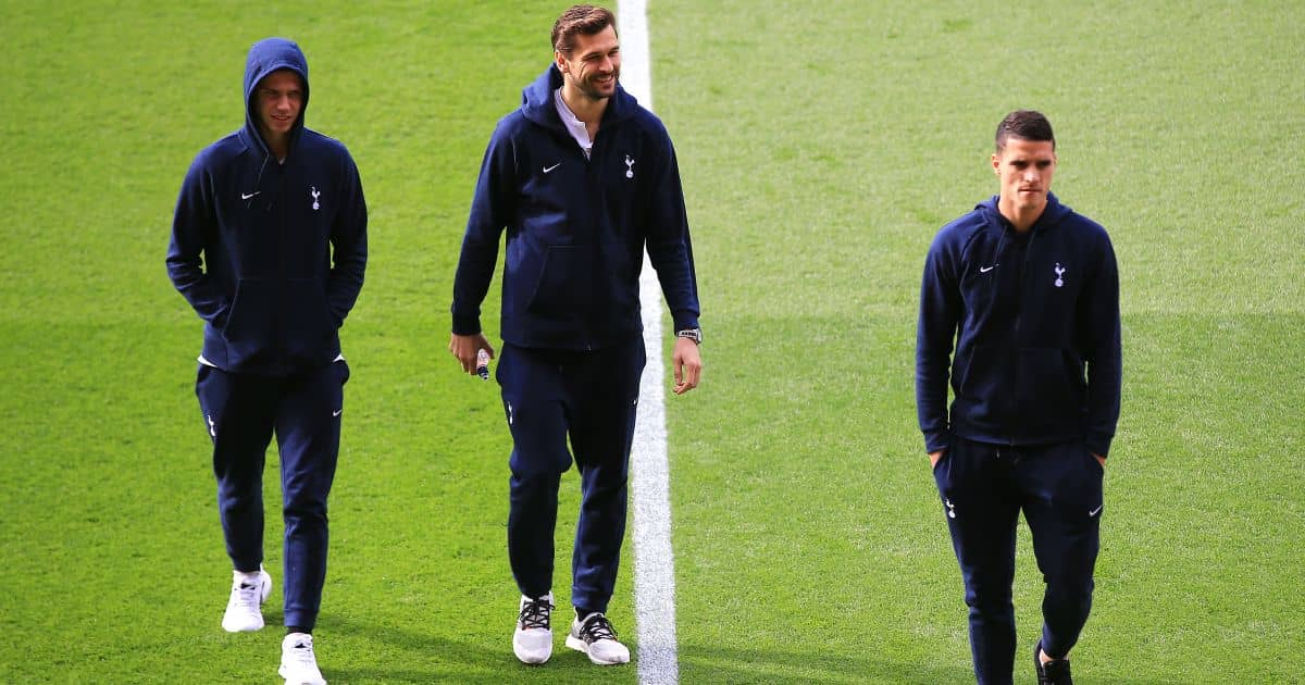 Juan Foyth, Fernando Llorente, Erik Lamela Southampton v Tottenham March 2019