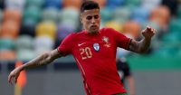 Joao Cancelo in action for Portugal, June 2021