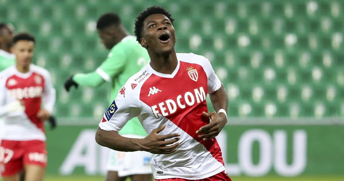 Aurelien Tchouameni, Monaco midfielder linked to Chelsea, TEAMtalk