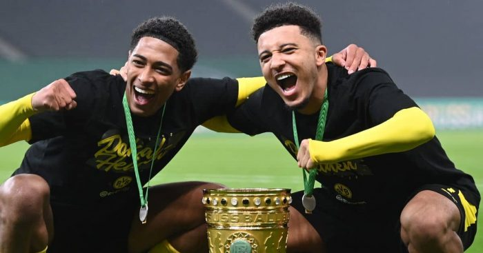 Jude Bellingham, Jadon Sancho win DFB-Pokal, Borussia Dortmund