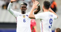 Pogba Giroud France high-five TEAMtalk