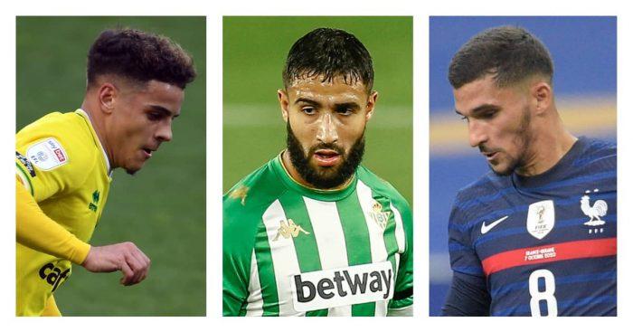 Arsenal-transfer-targets, Max Aarons, Nabil Fekir, Houssem Aouar, TEAMtalk