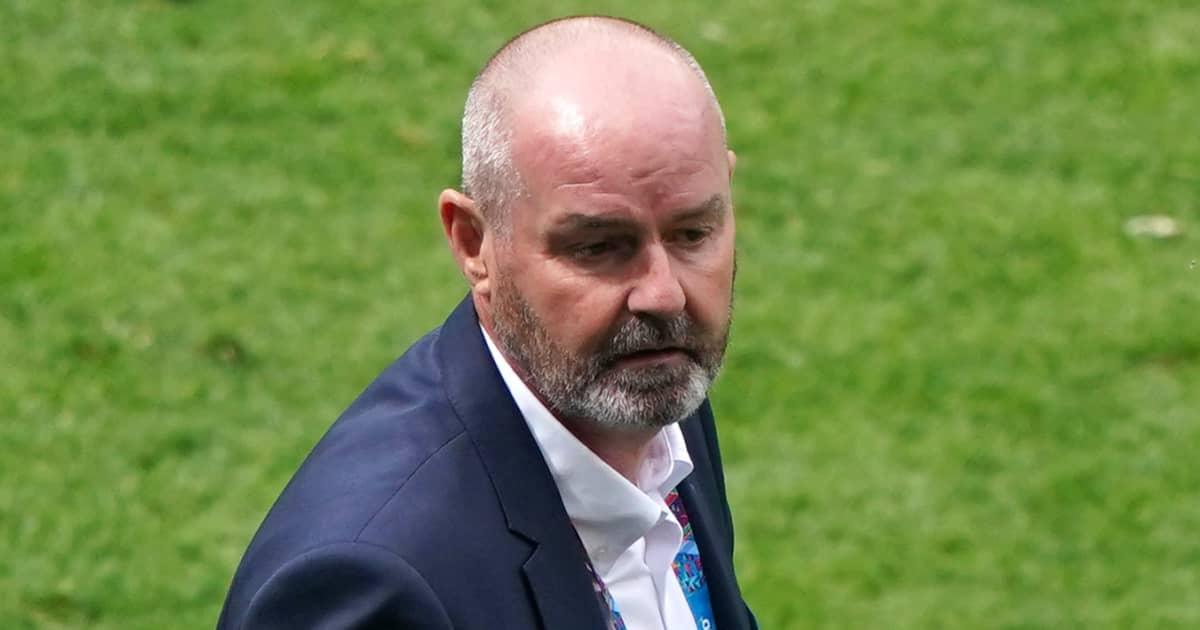 Steve Clarke dejected after Scotland defeat to Czech Republic, Euro 2020, June 2021