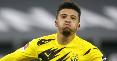 Jadon Sancho, Dortmund goal celeb
