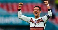 Cristiano Ronaldo celeb Hungary v Portugal TEAMtalk