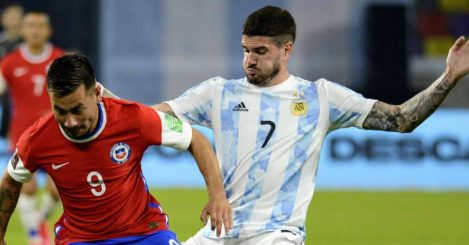 Rodrigo De Paul Argentina Copa America TEAMtalk