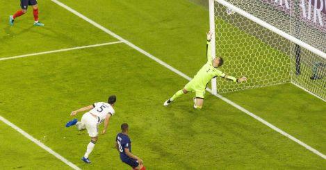 Mats Hummels scores an own goal past Germany goalkeeper Manuel Neuer, France v Germany EURO 2020, TEAMtalk