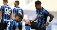 Achraf Hakimi, Lautaro Martinez Inter Milan v Udinese May 2021