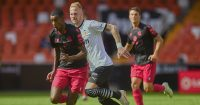 Alexander Isak, Uros Racic Valencia v Real Sociedad April 2021