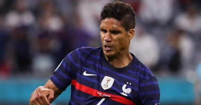 Raphael Varane, France v Germany Euro 2020