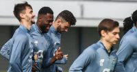 Fabio Vieira Porto training March 2021