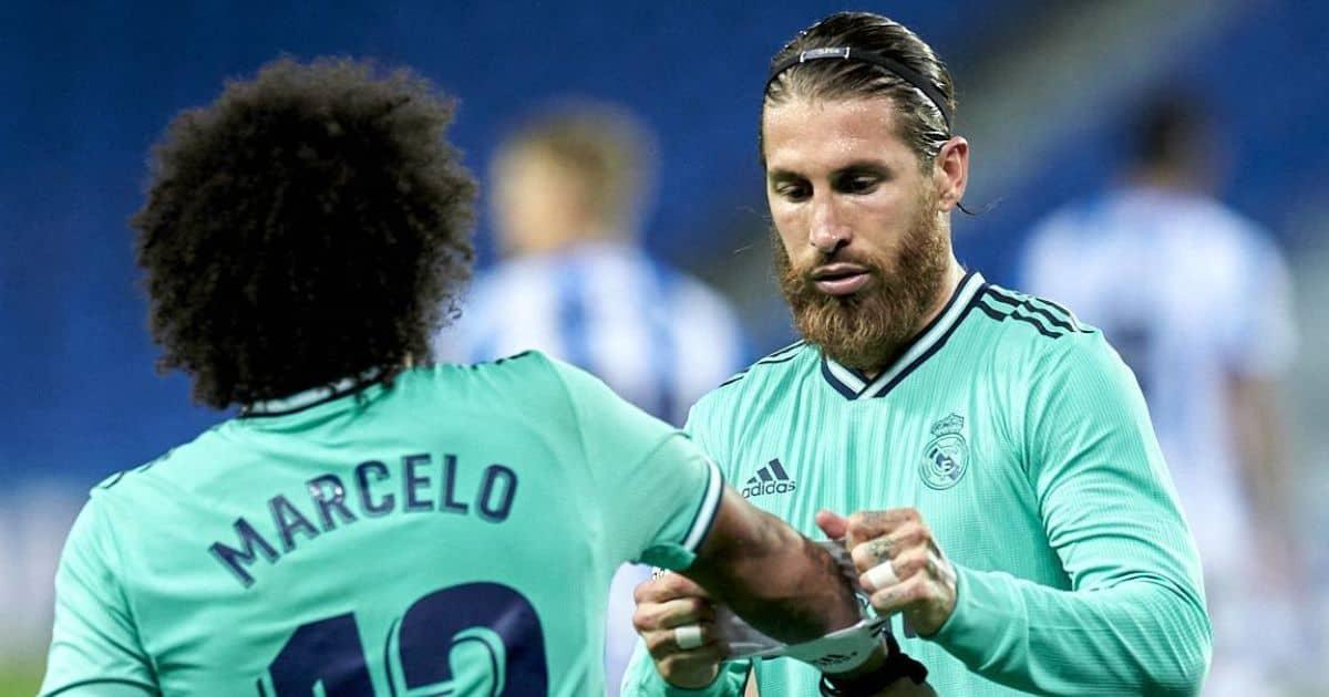 Marcelo, Sergio Ramos