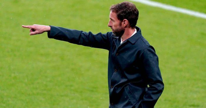 Gareth Southgate England manager v Scotland Euro 2020