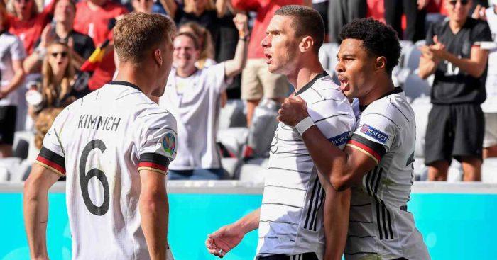 Joshua Kimmich, Robin Gosens, Serge Gnabry. Germany Euro 2020 TEAMtalk