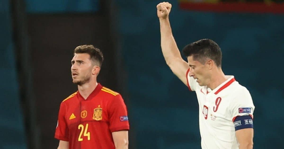 Spain remain winless after Poland draw thanks to Lewandowski lifeline