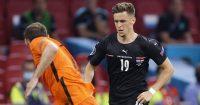 Christoph Baumgartner, Netherlands v Austria, Euro 2020 TEAMtalk