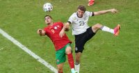 Andre Silva Portugal, Thomas Muller Germany, EURO 2020 group stage, 19/06/2021, TEAMtalk