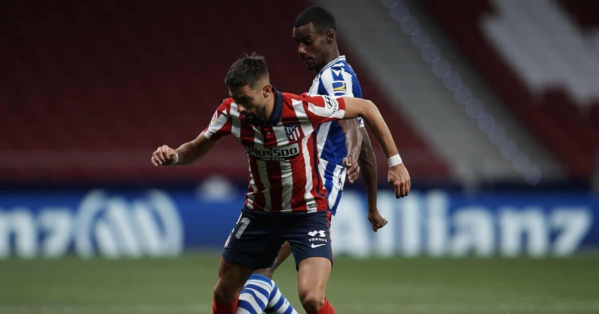 Alexander Isak, Yannick Carrasco Atletico Madrid v Real Sociedad May 2021
