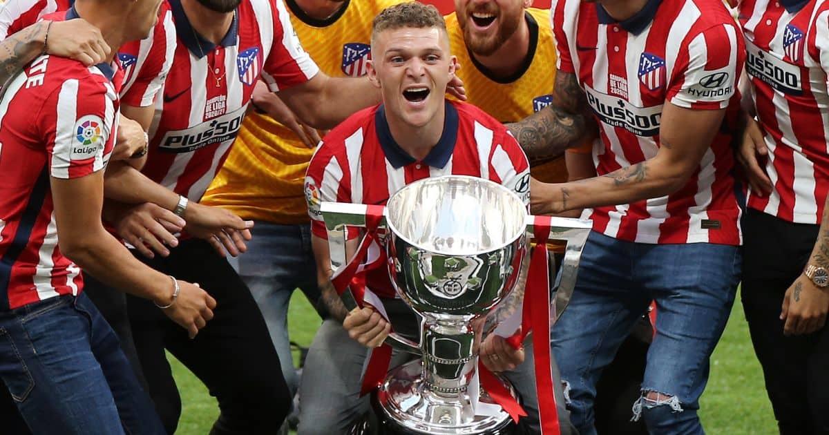 Kieran Trippier, Atletico Madrid defender celebrates La Liga title win, TEAMtalk