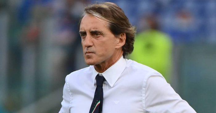 Roberto Mancini, Italy manager at Euro 2020,