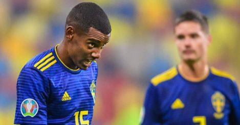 Alexander Isak, Sweden striker