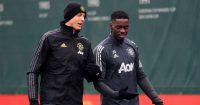 Axel Tuanzebe Man Utd training February 2021