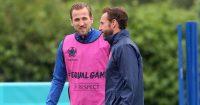 Harry Kane Gareth Southgate England training TEAMtalk