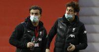 Xherdan Shaqiri and Kostas Tsimikas, Liverpool
