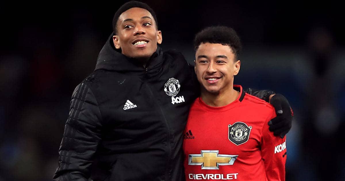 Anthony Martial, Jesse Lingard Manchester United TEAMtalk