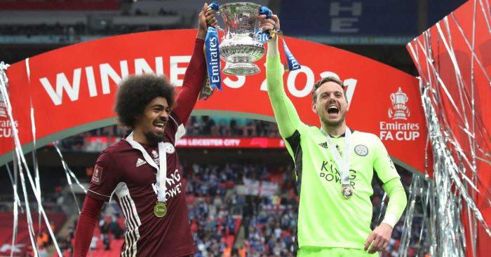 Hamza Choudhury, Danny Ward, Leicester FA Cup winners TEAMtalk