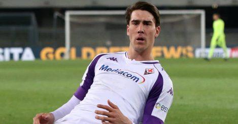 Dusan Vlahovic, Fiorentina goal celebration