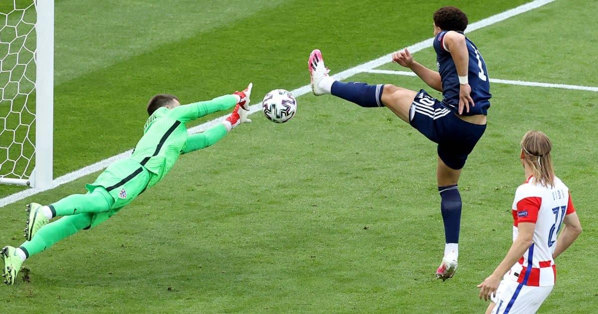 Che Adams, Scotland chance v Croatia, TEAMtalk