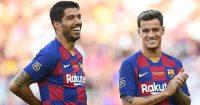 Philippe Coutinho, Luis Suarez Barcelona August 2019